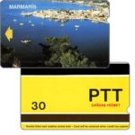 The Phonecard Shop: Marmaris, 9 mm band, 30 units