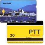 The Phonecard Shop: Bodrum, 9 mm band, sample card, 30 units