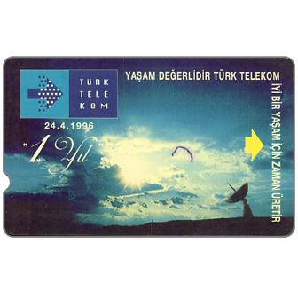The Phonecard Shop: Turkey, 1st Anniversary, 60 units