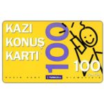 The Phonecard Shop: Turkey, Turkcell - Hazir kart, 100 kontor