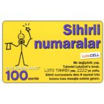 The Phonecard Shop: Turkey, Turkcell - Hazir kart, 100 kontor