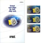 The Phonecard Shop: Italy, Europa Card Show, presentation pack with 3 Urmet chip cards