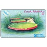 The Phonecard Shop: Brazil, Telerj - Nimphaea Vitoria Regia, without logo on front and back, Casa de Moeda, 10 units