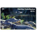 The Phonecard Shop: Brazil, Telerj - Alligators, Casa de Moeda, 50 units