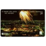 The Phonecard Shop: Brazil, Telpa - Fireworks over Joao Pessoa, 20 units