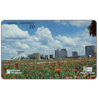 The Phonecard Shop: Telebrasilia - View of Brasilia, 10 units