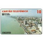 The Phonecard Shop: Brazil, Telergipe - Airview of Rio Sergipe, 10 units