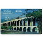 The Phonecard Shop: Brazil, Sistema Telebras - Arcos da Lapa, Thomas de La Rue, 20 units