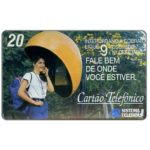 Phonecard for sale: Sistema Telebras - Ligue 9, 20 units