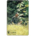 The Phonecard Shop: Brazil, Sistema Telebras - Exercito Brasileiro, Combatente de selva, 20 units
