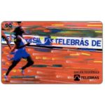 The Phonecard Shop: Brazil, Sistema Telebras - Athletics, 90 units