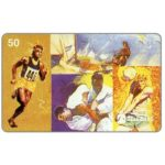 The Phonecard Shop: Sistema Telebras - Gold medals in Olympic Games, 50 units