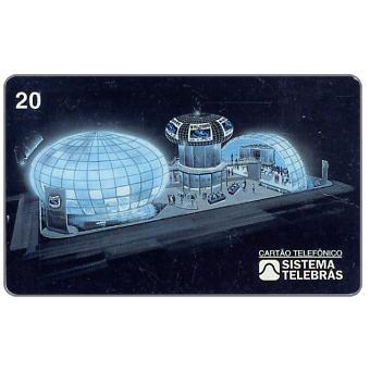 The Phonecard Shop: Brazil, Sistema Telebras - Telexpo '97, 20 units