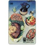 The Phonecard Shop: Brazil, Telemig - Feijao de Tropeiro, 20 units