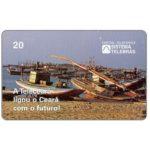 The Phonecard Shop: Brazil, Telesc - Enseada do Mucuripe, 20 units