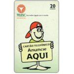 The Phonecard Shop: Brazil, Telesc - Cartao Telefonico Anuncie aqui, 20 units