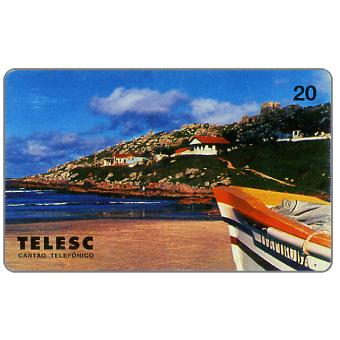 The Phonecard Shop: Telesc - Praia de Itapiruba, 20 units