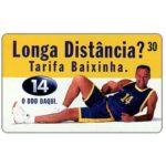 The Phonecard Shop: Brazil, Telesc - Longa Distancia, basketball player, 30 units