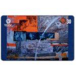 The Phonecard Shop: Brazil, Telesc - Painting by Rui Kronbauer, 30 units