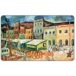 The Phonecard Shop: Brazil, Telesc - Painting by Domingos Fossari, 30 units