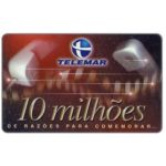 The Phonecard Shop: Brazil, Telemar - 10 milhoes, 30 units