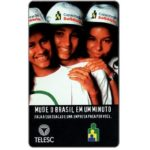 The Phonecard Shop: Brazil, Telesc - Capacitacao Solidaria, 30 units
