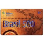 The Phonecard Shop: Brazil, Telesc - Brasil 500, 30 units
