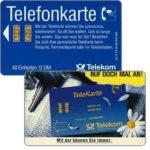 The Phonecard Shop: Germany, Telekarte, 'Mit der konnen…', chip 10, 12 DM