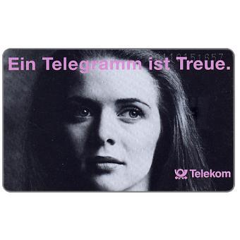 The Phonecard Shop: Germany, Ein Telegramm ist Treue, 12 DM
