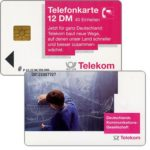 The Phonecard Shop: Germany, Communications Network, 12 DM
