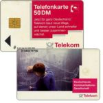 Phonecard for sale: Communications Network, 50 DM