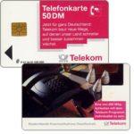 The Phonecard Shop: Germany, Porsche telephone, 50 DM