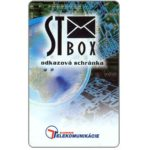 The Phonecard Shop: Slovakia, ST Box, 100 units