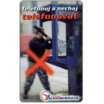 The Phonecard Shop: Slovakia, Vandalism, 50 units
