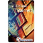 The Phonecard Shop: Slovakia, ST Online Internet, 50 units