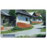 The Phonecard Shop: Slovakia, Pamiatky UNESCO, Vlkolinec, 50 units