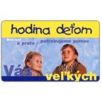 The Phonecard Shop: Slovakia, Hodina Det'om, 100 units