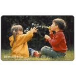 The Phonecard Shop: Children with bubbles, 50 units