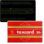 The Phonecard Shop: Switzerland, Definitive, band 4 mm, without notch, 611C, 20 units