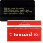 The Phonecard Shop: Switzerland, Definitive, code 912B inverted, 10 units