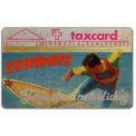 The Phonecard Shop: Sunways, 4mm band, promotional card