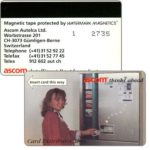 The Phonecard Shop: Switzerland, Ascom - Automat RS (+41)31 52 92 22, demo card