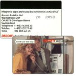 The Phonecard Shop: Switzerland, Ascom - Telefon RS (+41)31 52 92 22, demo card