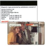 The Phonecard Shop: Switzerland, Ascom - Telefon RS (+41) 31 999 62 22, demo card