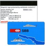 The Phonecard Shop: Switzerland, Bodenseetreffen - SBB (Puzzle 1/4), demo card
