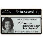 The Phonecard Shop: Switzerland, Doris Cohen-Dumani, 909B, 1 unit