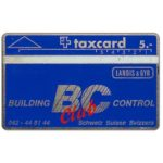 The Phonecard Shop: Switzerland, Landis & Gyr - Building Control, 003A, 5 units