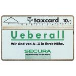 The Phonecard Shop: Secura - Ueberall, 101E, 10 units