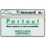 The Phonecard Shop: Secura - Partout, 101E, 10 units