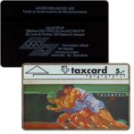 The Phonecard Shop: Switzerland, Alcatel - Olympiade (french text), 106D, 5 units